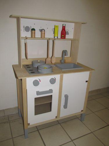 beeboo kinder k che holz k che mit aufsatz 0023489 neu ebay. Black Bedroom Furniture Sets. Home Design Ideas