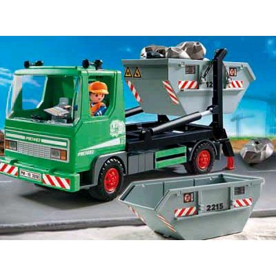 Playmobil containerdienst