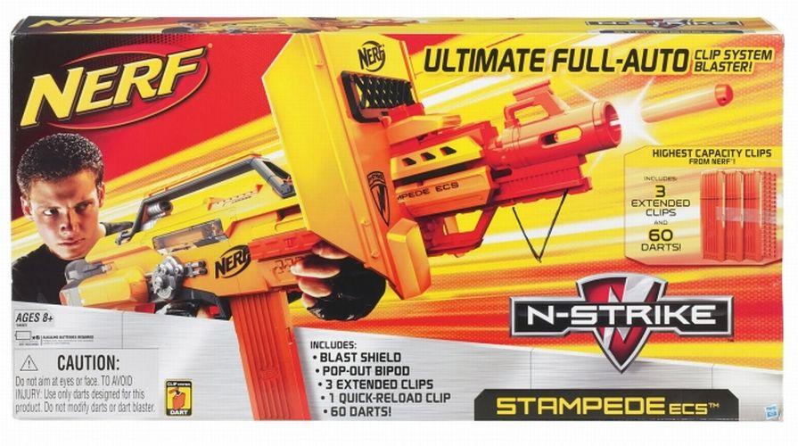 Nerf 94665 N Strike Stampede Ecs 60 Neu Ovp Ebay